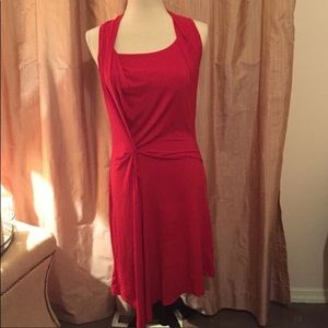 Red Michael Kors a red Dress